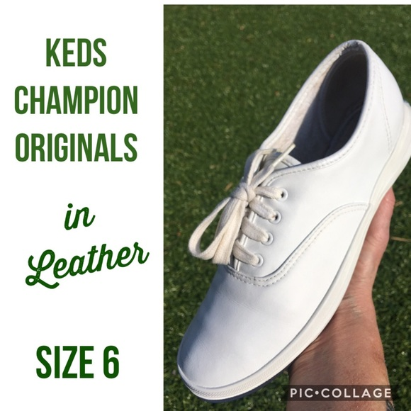 Keds Champions Original's in Leather